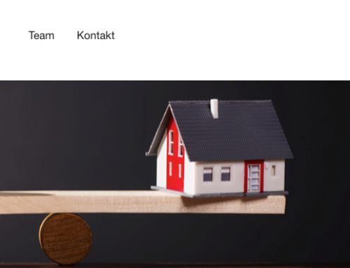 Projekt: Webdesign und Layout für Home Staging
