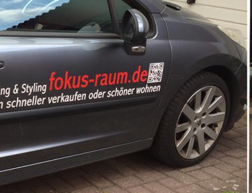 Projekt Fahrzeugwerbung: Werbung auf Tour