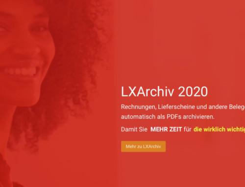LXArchiv 2020: Digitales PDF-Archiv für Lexware jetzt updaten